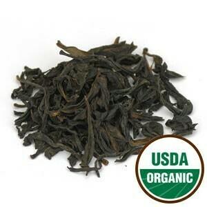 Oolong Tea Organic Priced per oz