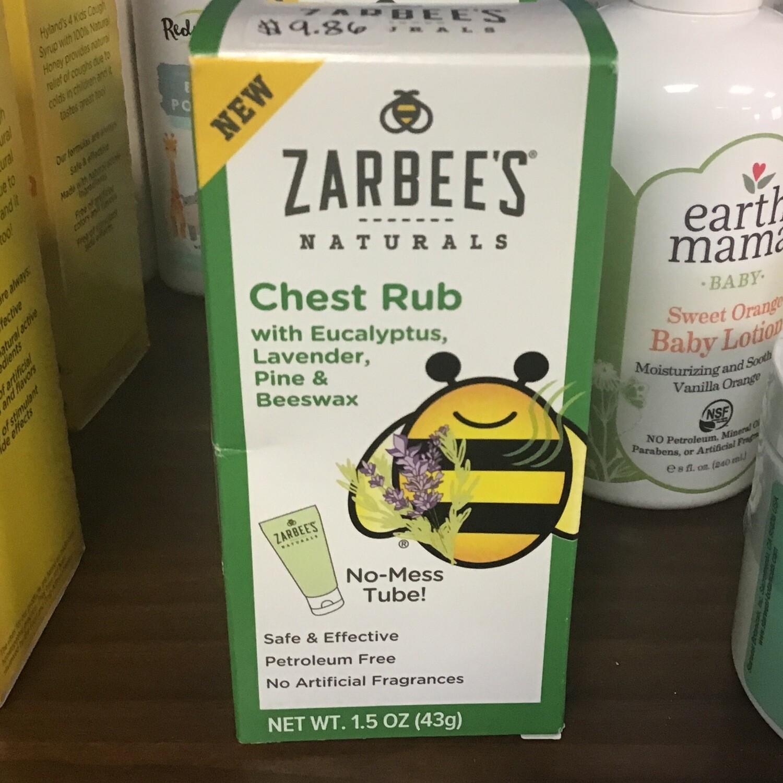 Zarabee's  Chest Rub