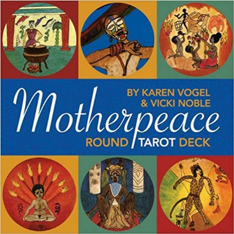 Mother peace Round Deck by Vogel & Noble