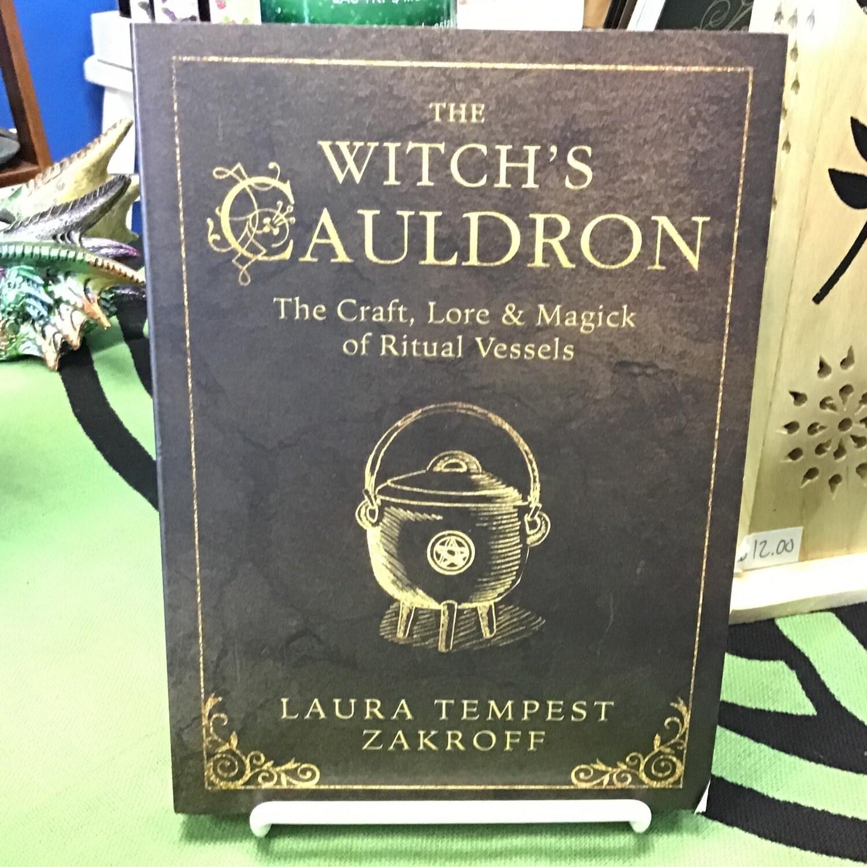Witch's Caulron by Laura Tempest Zakroff