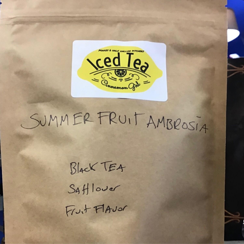 Summer Fruit Ambrosia 6 Iced Tea Pitcher Bags