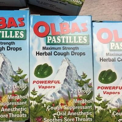 Olbas Pastilles Herbal Cough Drops