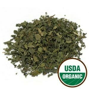 Nettle Leaf Organic Price per oz