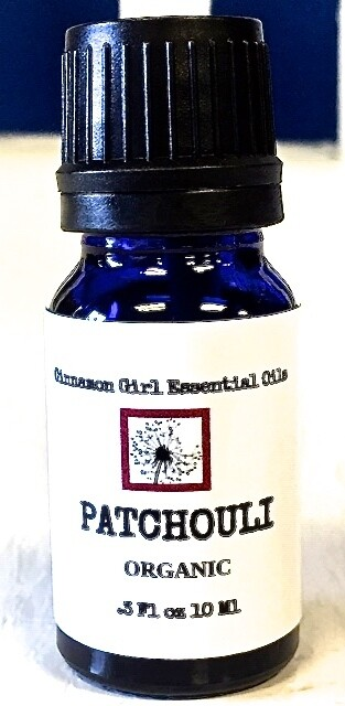 Organic Patchouli Essential Oil 10 Ml