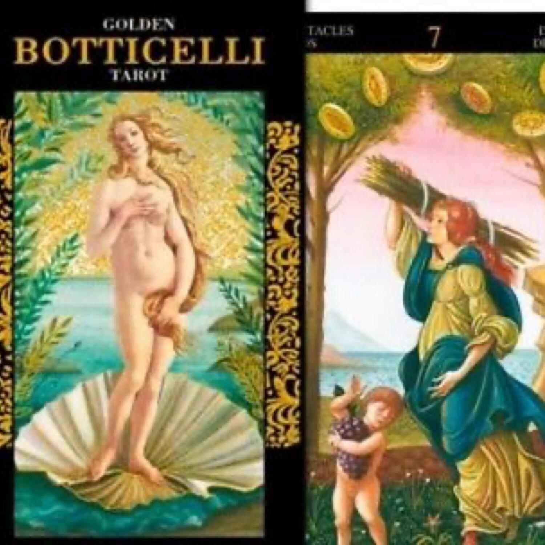 Golden Botticelli Deck