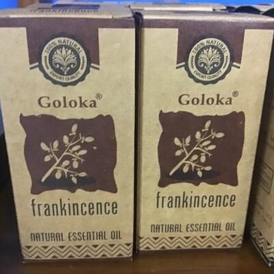 Goloka Frankincense Natural Essential Oil 10 ml