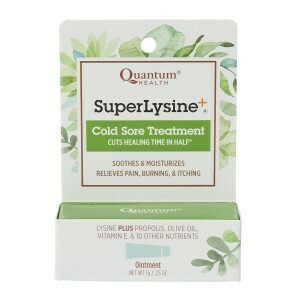 Quantum® Super Lysine+ Cold Sore Treatment