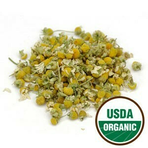 Chamomile Flower Whole (German) Priced per oz