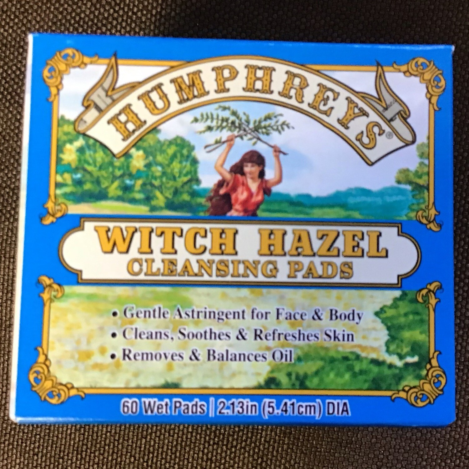 Humphry's Witch Hazel Pads 60 ct
