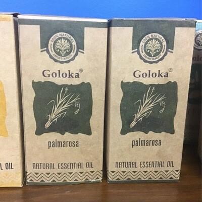 Goloka Palmarosa Natural Essential Oil 10 ml