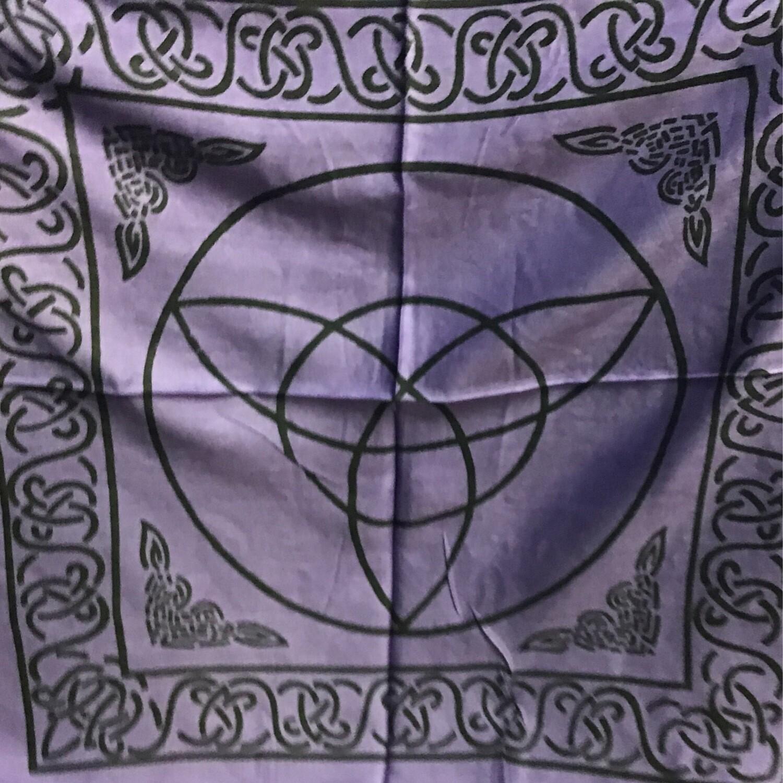 Triquetra Altar Cloth 18x18