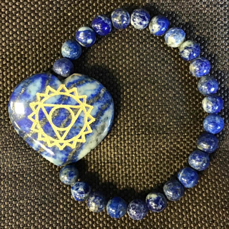 Throat Chakra Stone Bracelet