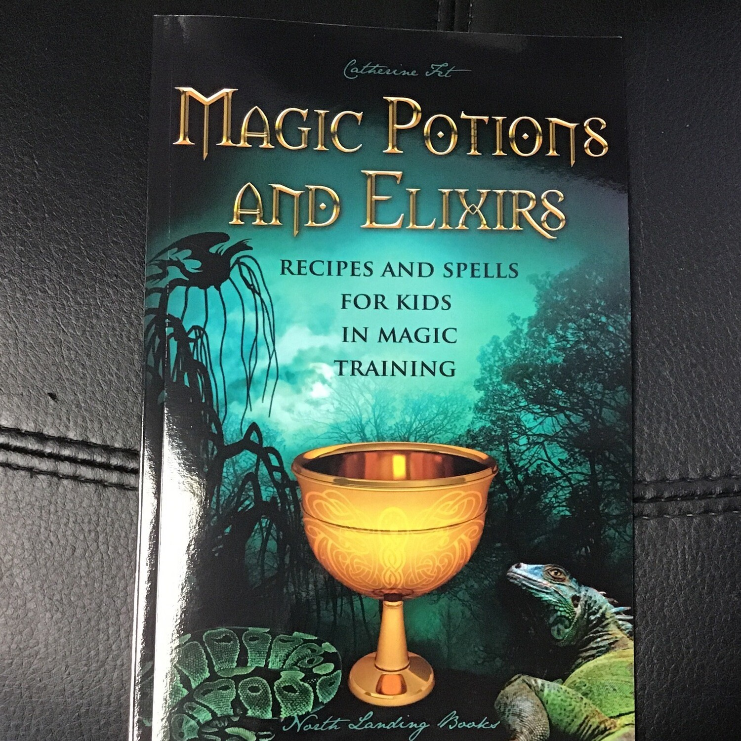 Magic Potions and Elixers Recipes and Spells For Kids in Magic Training