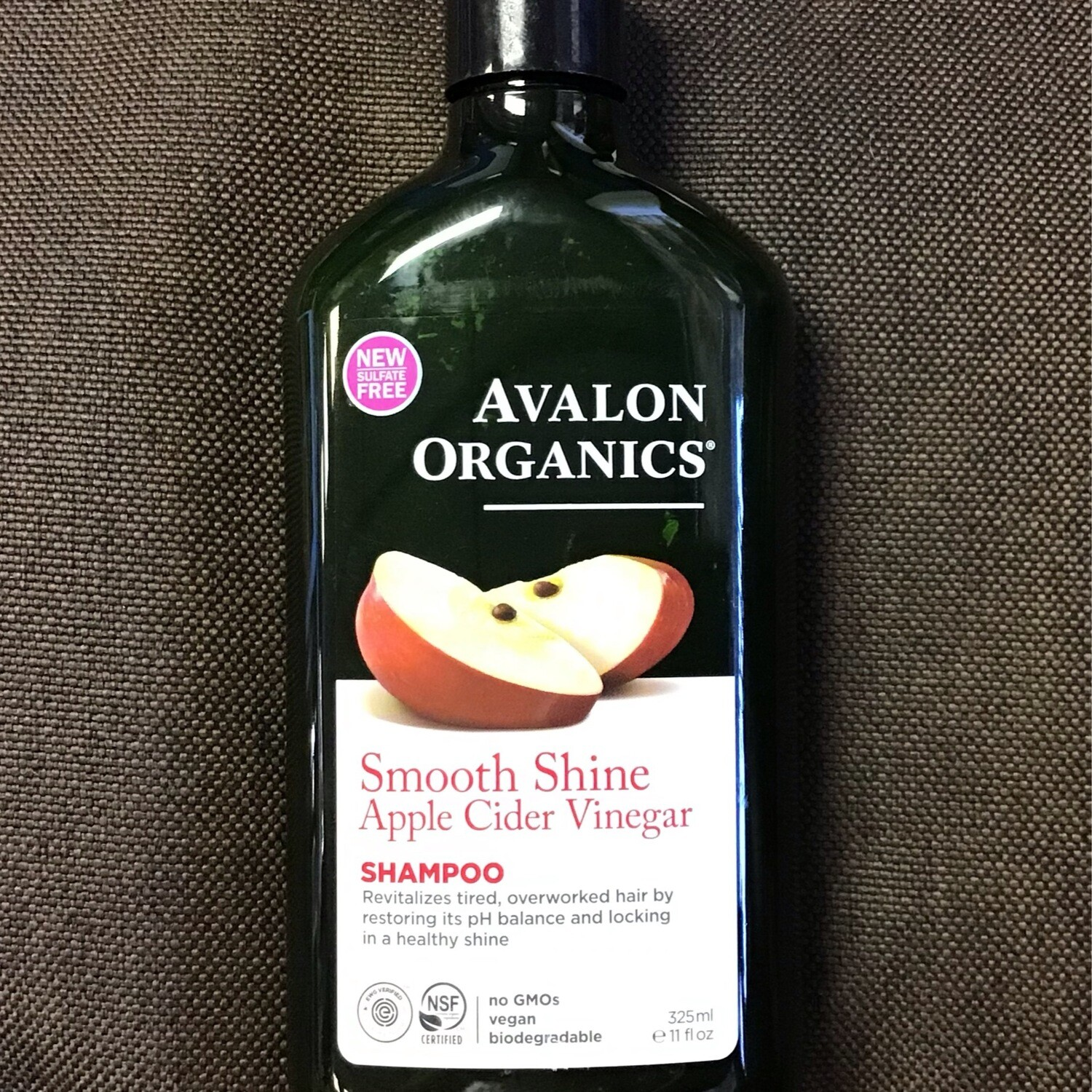 Avalon Organics Apple Cider Shampoo 11 oz