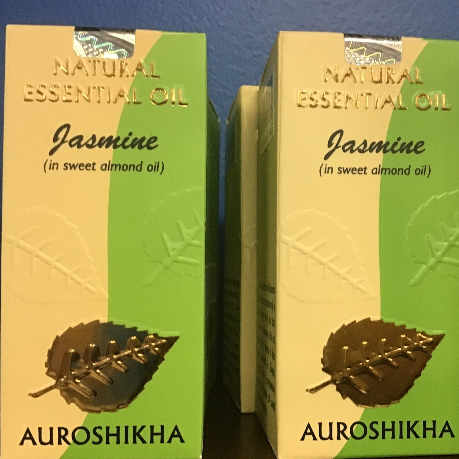 Auroshika Jasmine Natural Essential Oil diluted in Almond Oil 10 ml