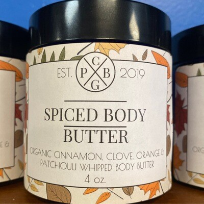 Spiced Body Butter