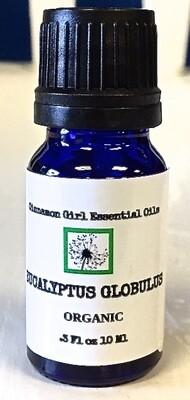 Organic Eucalyptus Globulus 10 Ml