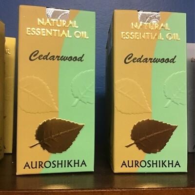 Auroshika Cedarwood Natural Essential Oil 10 ml