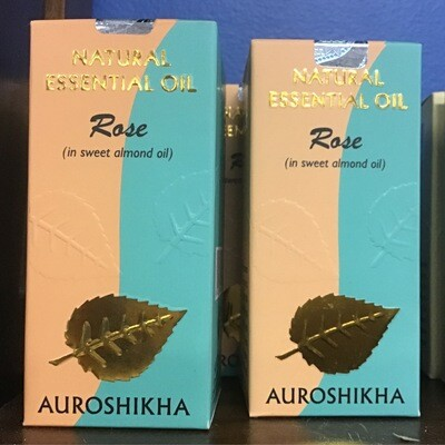 Auroshika Rose Essential Oil Diluted in Almond Oil 10 ml