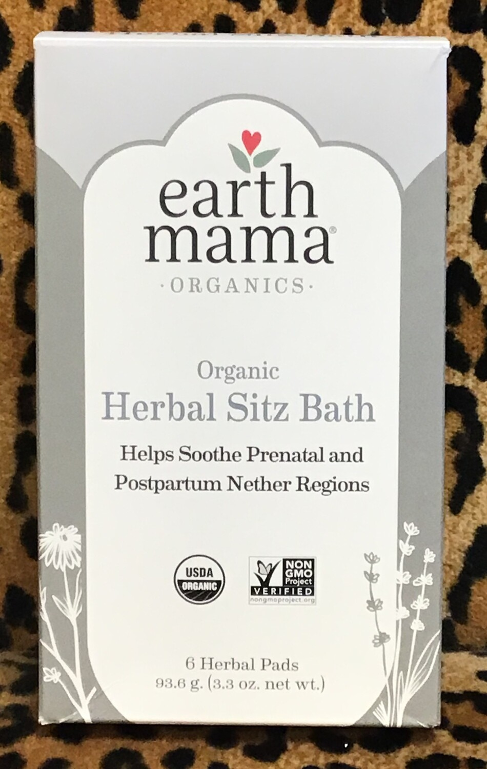 Sitz Bath Organic Herbal from Earth Mama 6 pack