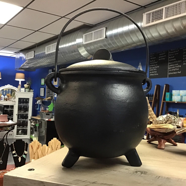 """Large 8"""" Cauldron with"""