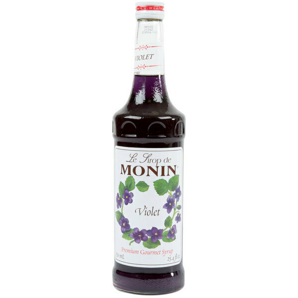 Premium Violet Flavoring Syrup / Monin 25.4 Fl oz/ 750 mL