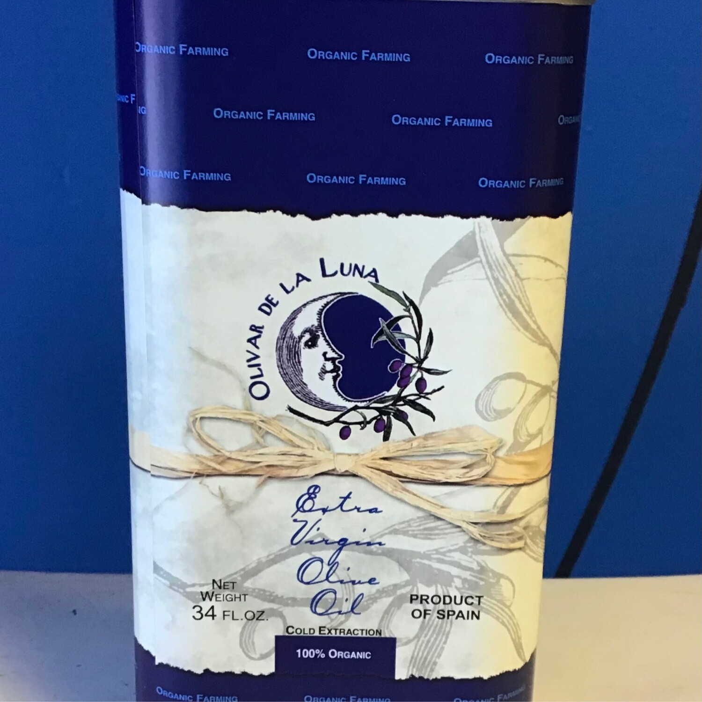 Olivar del Luna Organic Olive Oil Tin 43 oz