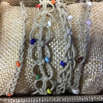 Hemp Bracelets Thin