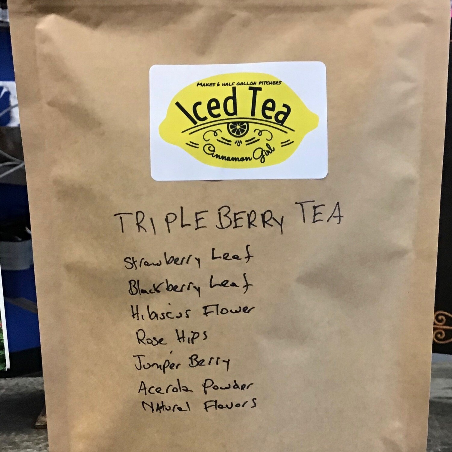 Triple Berry 6 Iced Tea Pitcher Bags