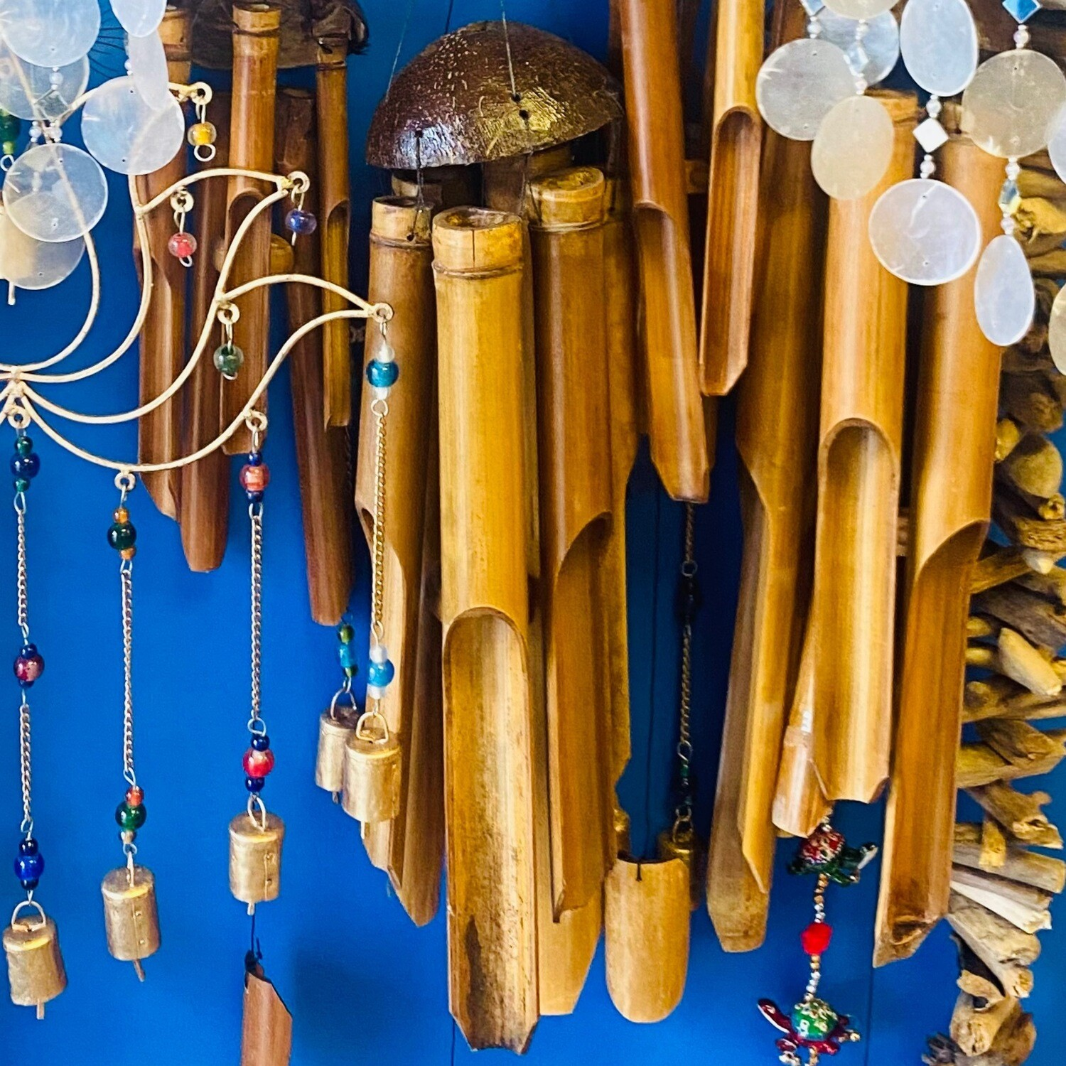 Bamboo Wind Chimes Extra Large