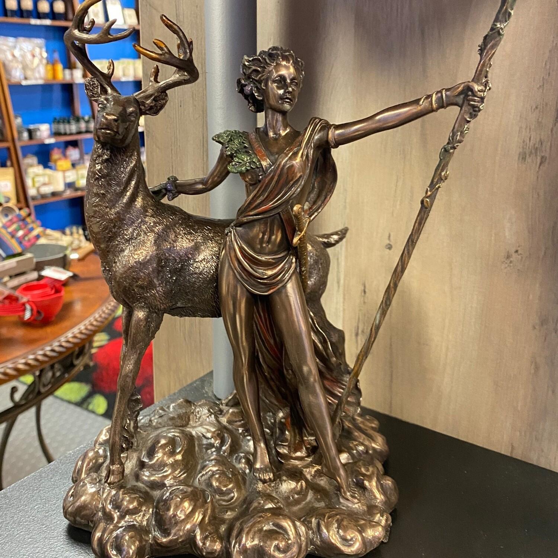 Moon Diana Statue