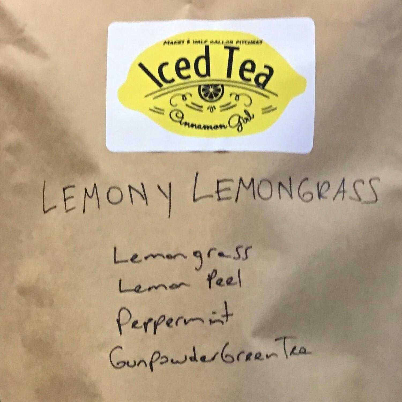 Lemony lemongrass 6 Iced Tea Pitcher Bags