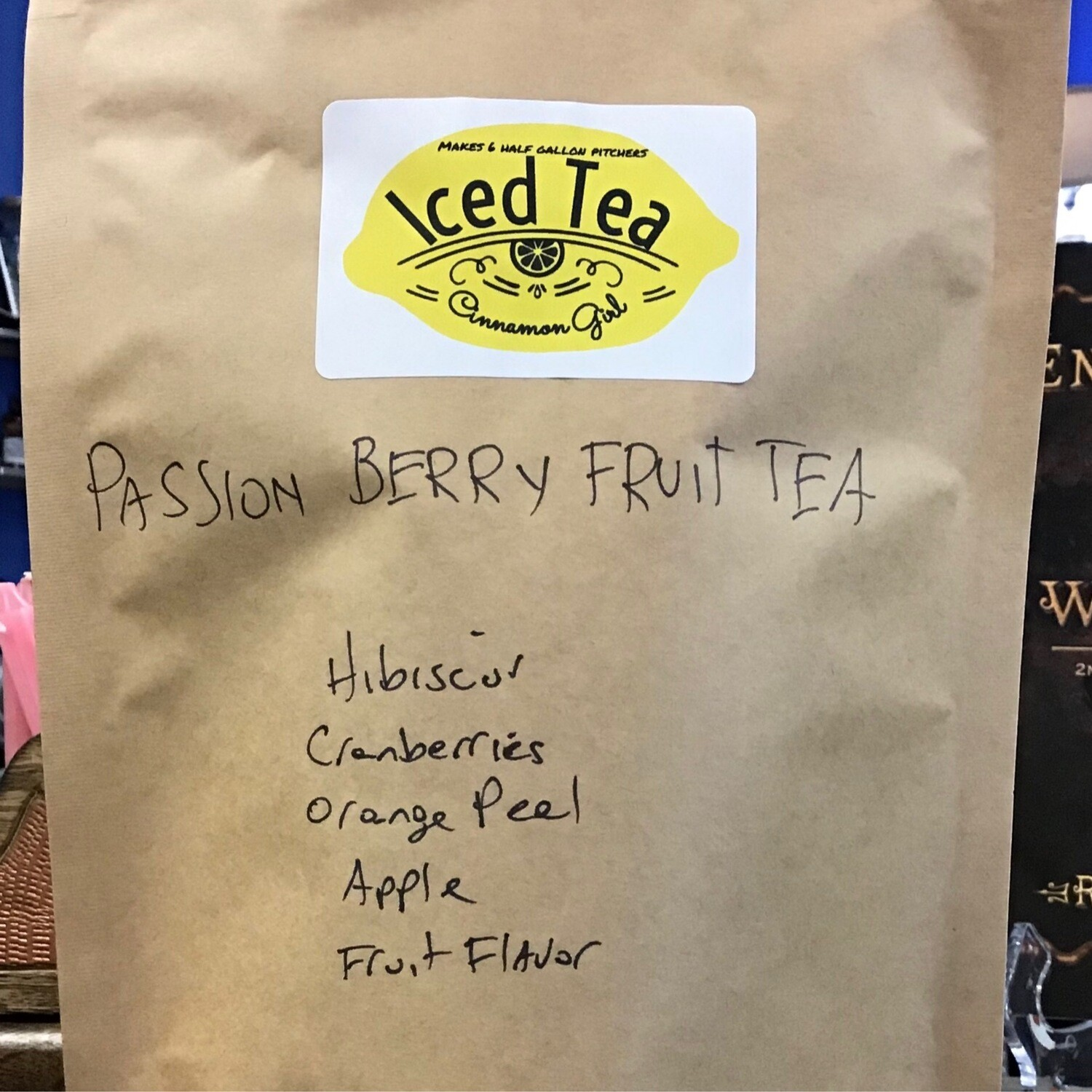 Passion Berry 6 Iced Tea Pitcher Bags