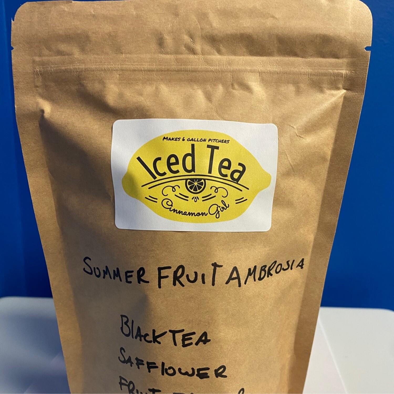 Summer Fruit Ambrosia Iced Tea Pitcher Bags 6 (1 gallon pitchers)