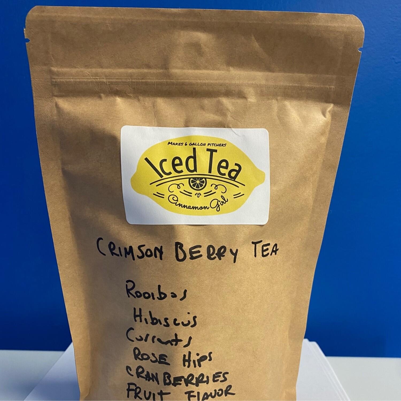 Crimson Berry Iced Tea Pitcher Bags 6 ( 1 gallon pitchers)