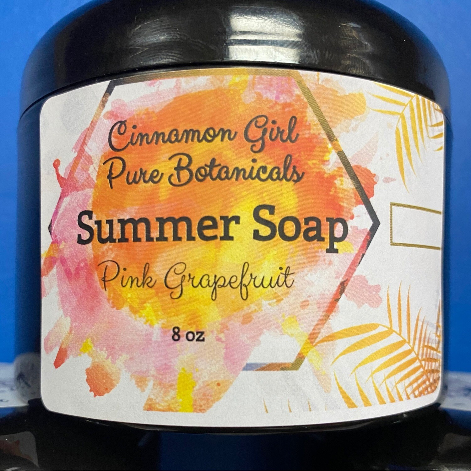 Summer Soap Whipped Pink Grapefruit