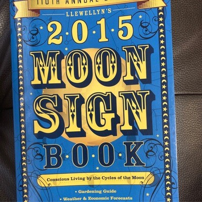 2015 Moon Sign Book by Llewellyn