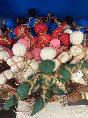 Poppets by Chelsey Ogert of Blessed Be Aromas