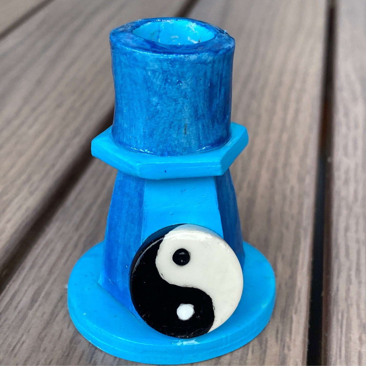 Spell Candle Holder Yin Yang