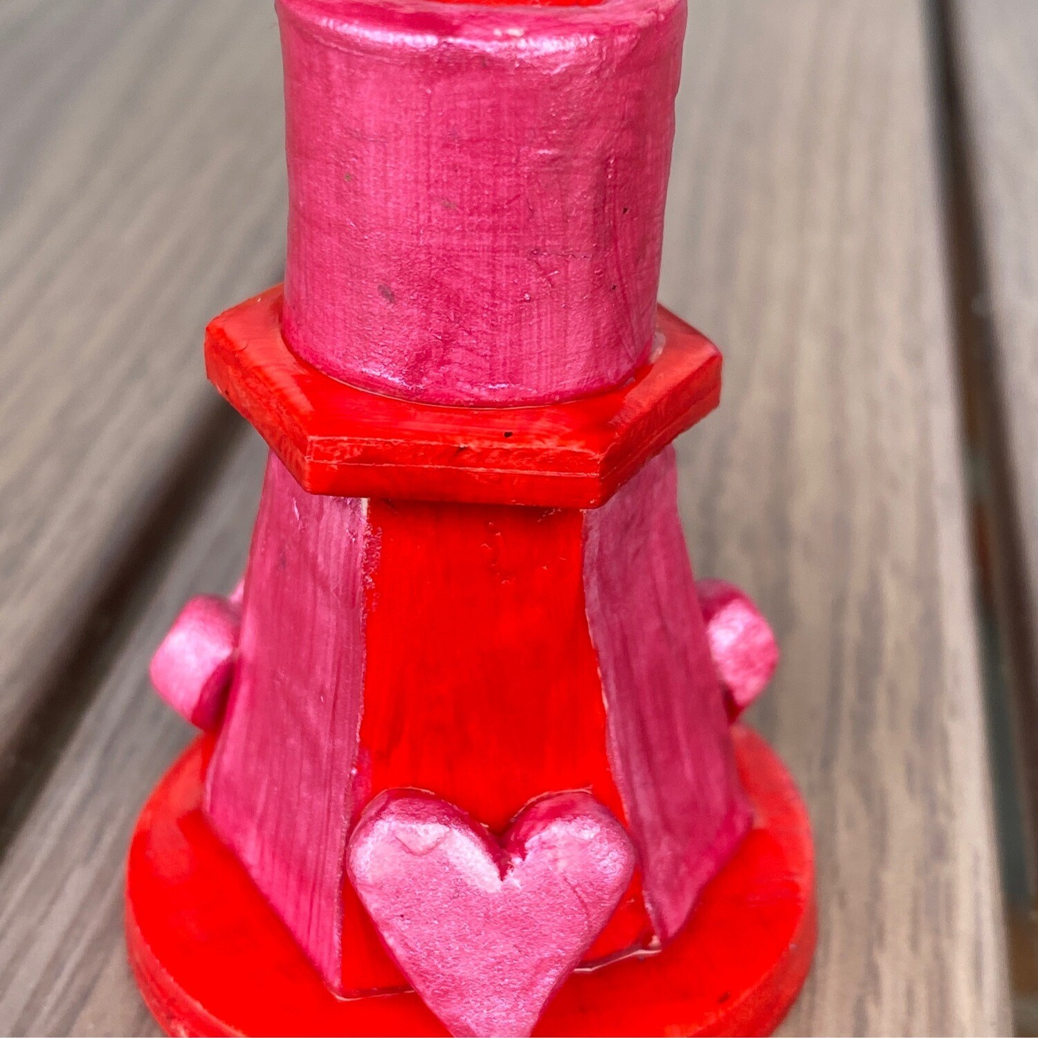 Spell Candle Holder Heart/Romantic Love