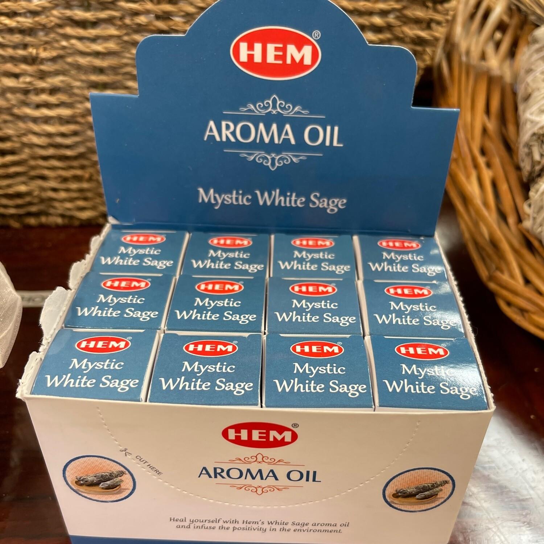 Hem Aroma Oil White Sage