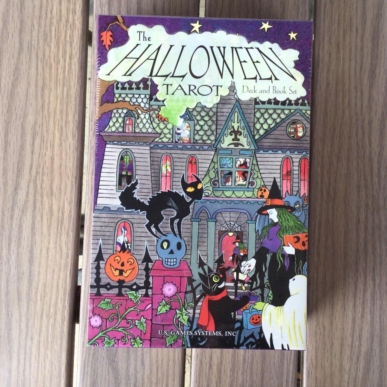 Halloween Tarot Deck & Book Set