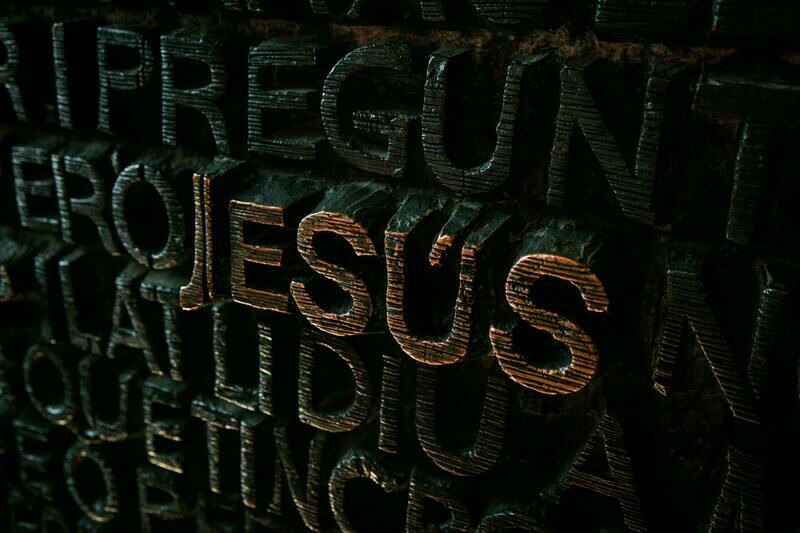 Digital Wallpaper- Jesus