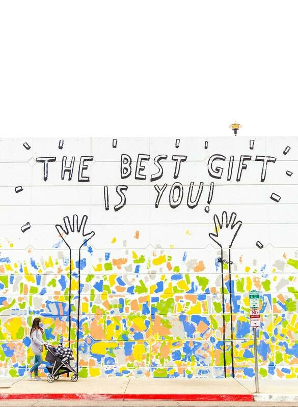 Digital Wallpaper- the best gift is you!