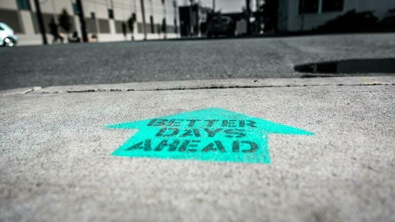 Digital Wallpaper- better days ahead