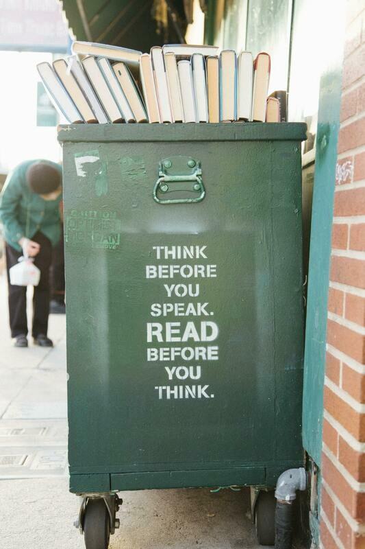 Digital Wallpaper- think before you speak