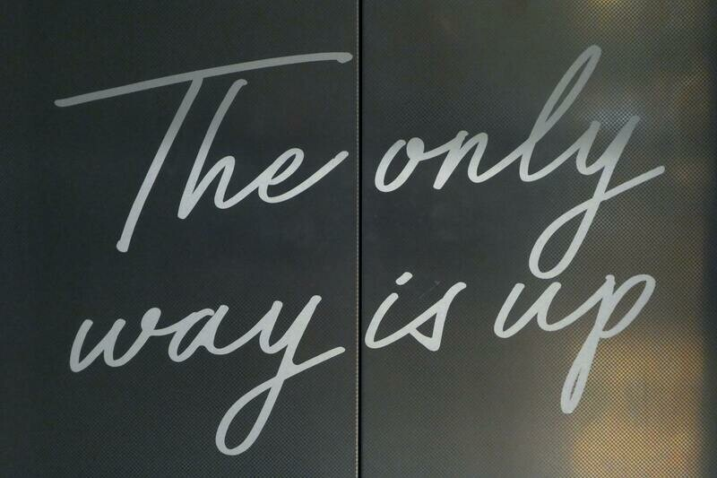 Digital Wallpaper- the only way is up