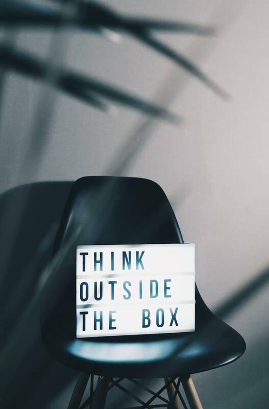 Digital Wallpaper- think outside the box