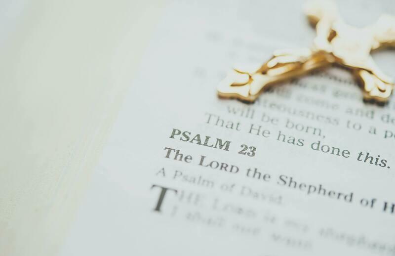 Digital Wallpaper- Psalm 23