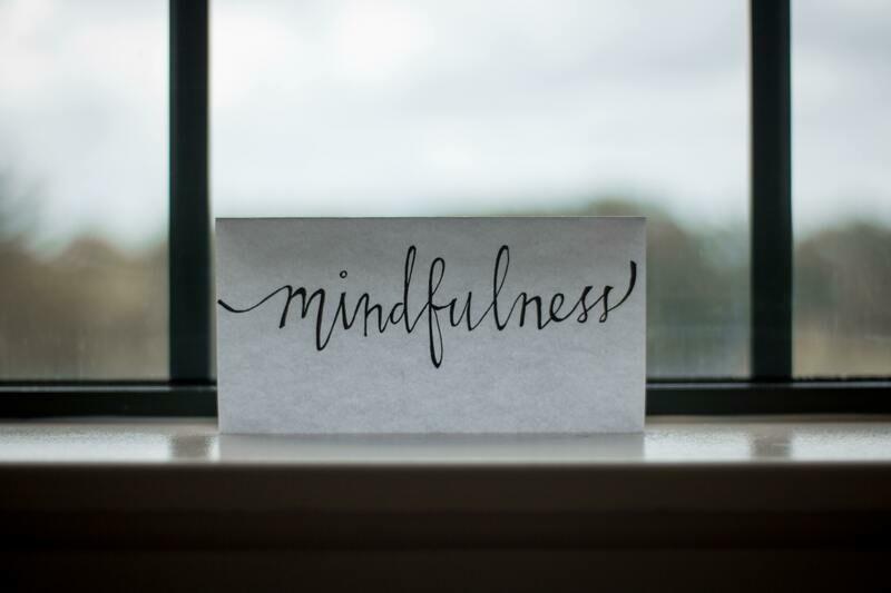 Digital Wallpaper- mindfulness